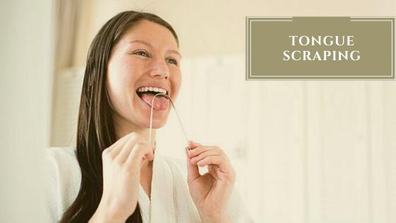 Tongue Scraping