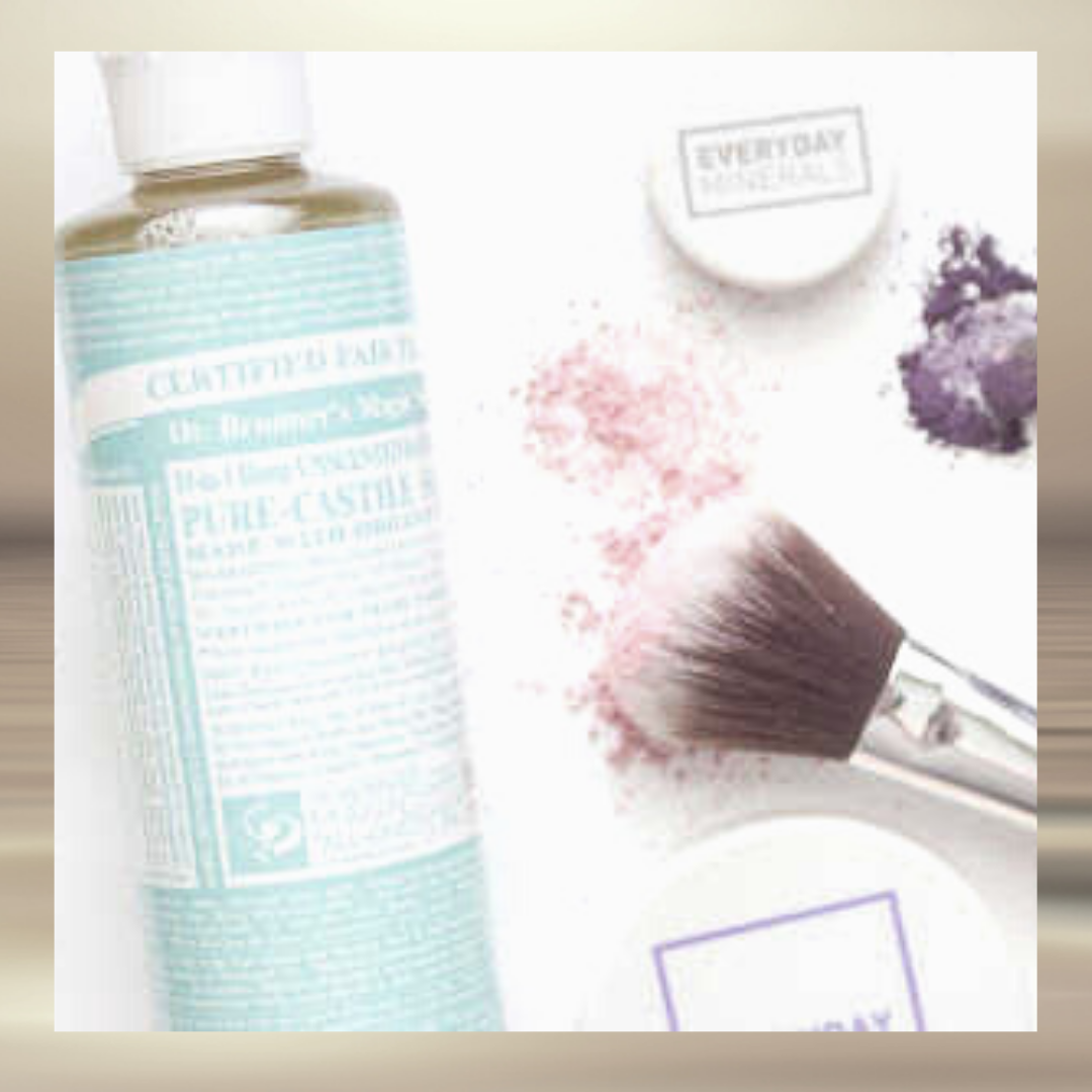 Clean Makeup Brushes castile soap