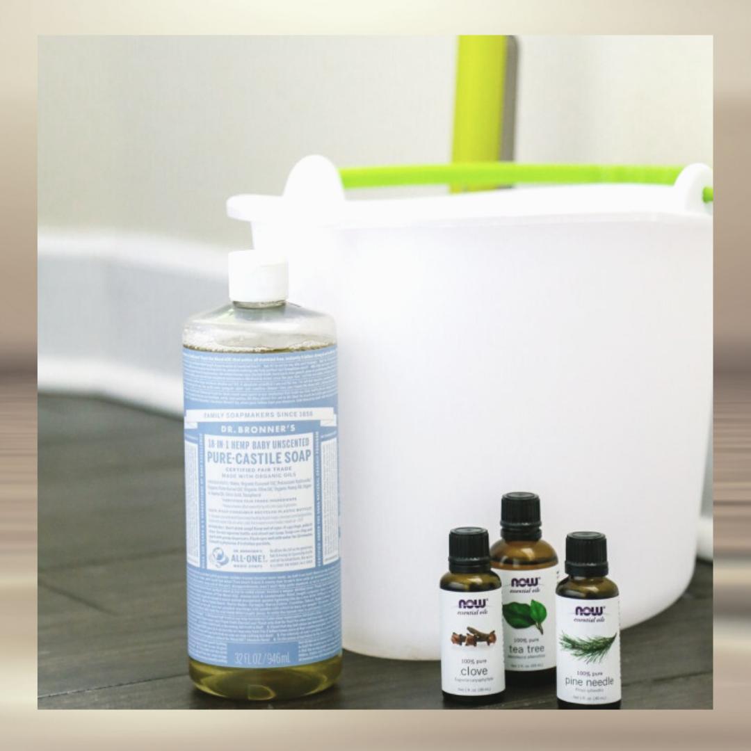 Multi-Surface Floor Cleaner castile soap
