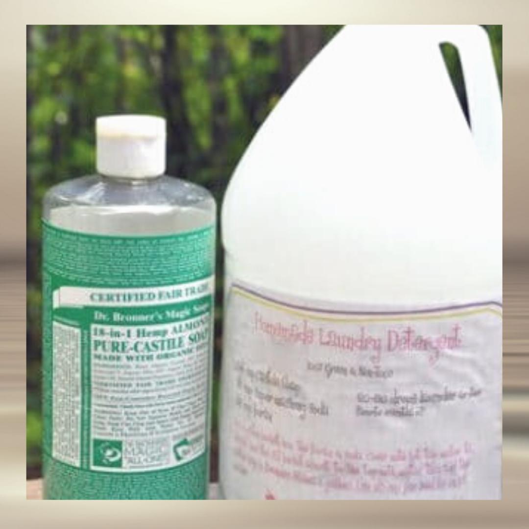laundry detergent castile soap