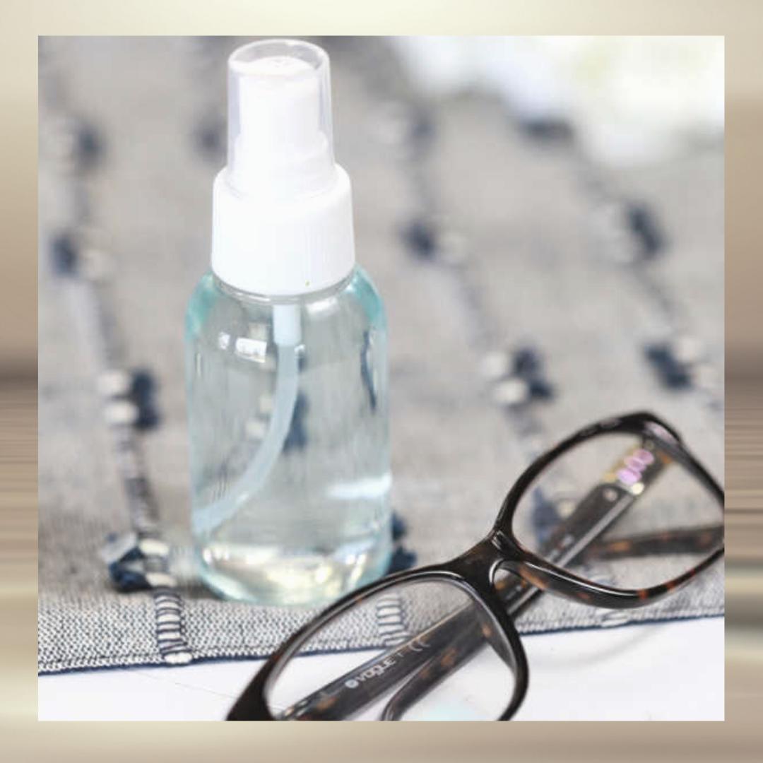 Homemade Eyeglass Cleaner castile soap
